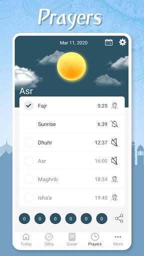 Muslim Pocket - Prayer Times, Azan, Quran & Qibla screenshot 4