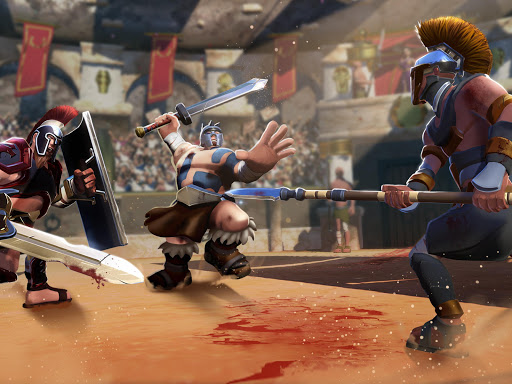 Gladiator Heroes - Fighting and strategy game screenshot 15