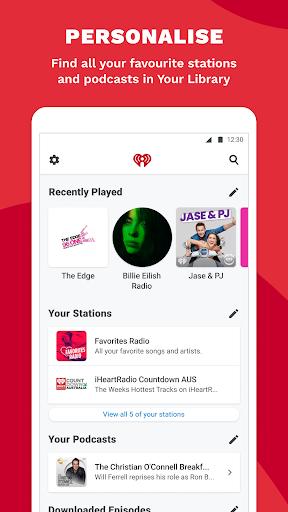 iHeartRadio - Free Music, Radio & Podcasts screenshot 6