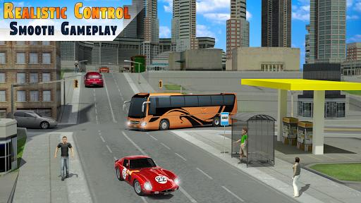 City Bus Simulator 3D - Addictive Bus Driving game स्क्रीनशॉट 2