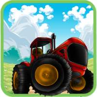 Farm Tractor Racing on 9Apps