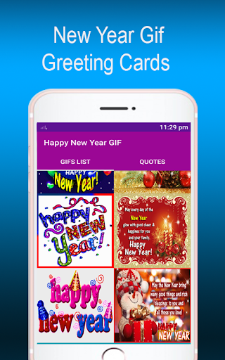 New Year GIF 2022 screenshot 4