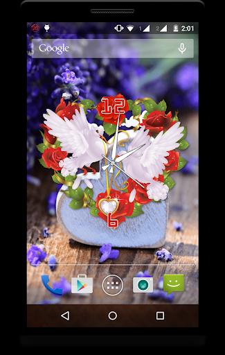 Heart Clock Live Wallpaper screenshot 3