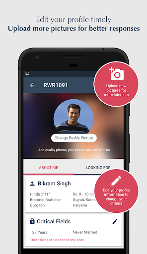 Jeevansathi.com -Top Matrimonial, Matchmaking App screenshot 5