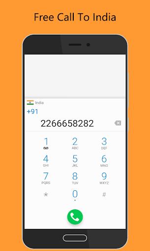 Call India Free - IndiaCall screenshot 1