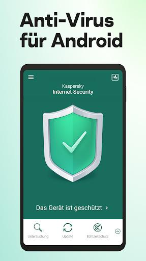 Kaspersky Sicherheit: Antivirus und Handy Schutz screenshot 1