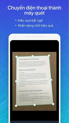 CamScanner:máy quét ảnh, quét thành pdf, miễn phí screenshot 1