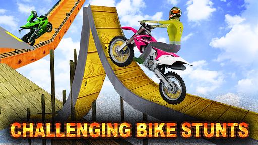 Bike Stunts New Games 2020:Free motorcycle games screenshot 1