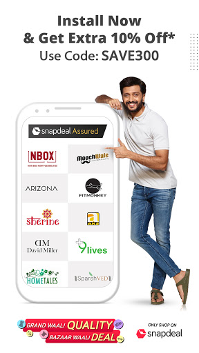 Snapdeal Shopping App -Free Delivery on all orders screenshot 2