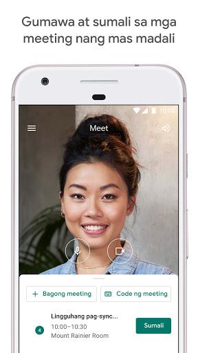 Google Meet screenshot 1