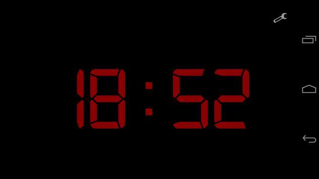 Black Alarm Clock screenshot 2
