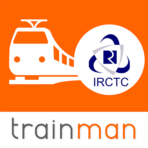 Train Ticket Booking App for IRCTC: Train man icon