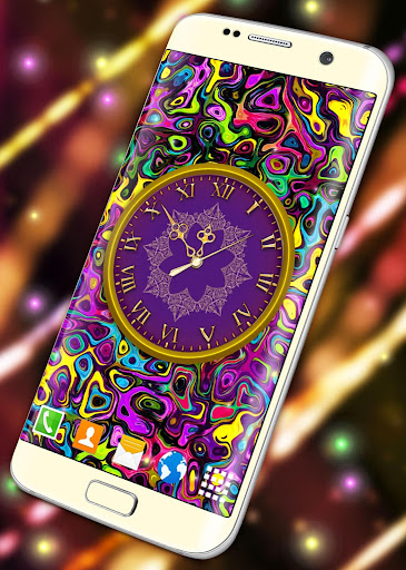 HD Clock Wallpaper ❤️ Beautiful Live Analog Clock screenshot 6