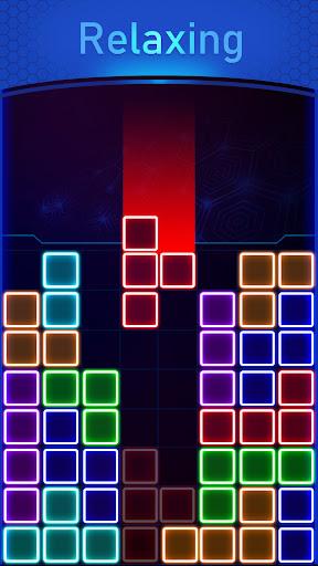 Glow Block Puzzle screenshot 2