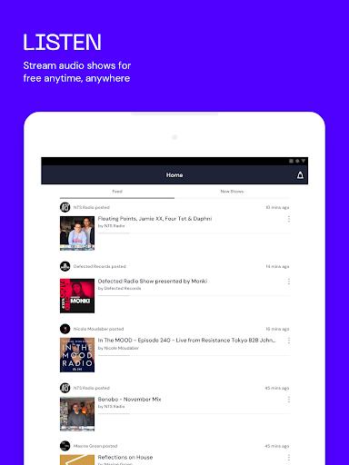 Mixcloud - Radio- & DJ-Mixes screenshot 7