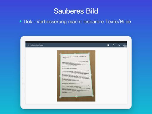 CamScanner-Kostenloser PDF- und Dokumentenscanner screenshot 9