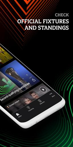 Europa: official football app screenshot 2