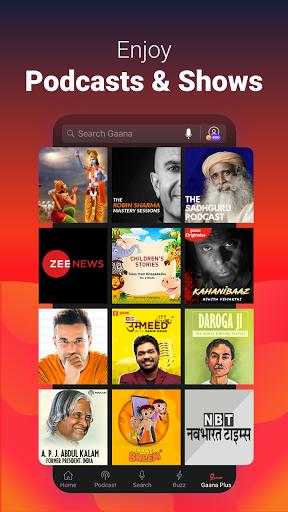 Gaana Music Hindi Song Free Tamil Telugu MP3 App screenshot 2