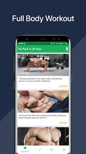 7 Minute Abs Workout - Home Workout for Men 1 تصوير الشاشة
