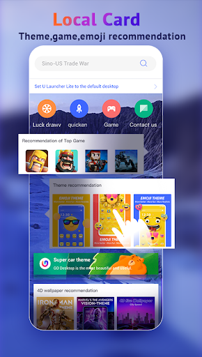 U Launcher Lite-New 3D Launcher 2020, Hide apps screenshot 3