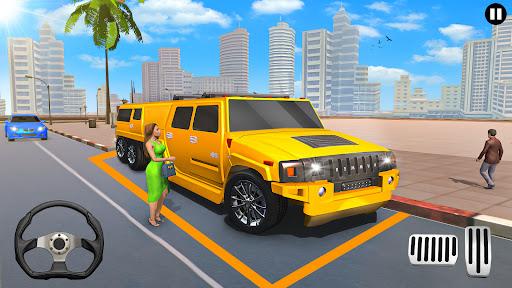 Big City Limo Car Driving Taxi Games screenshot 2