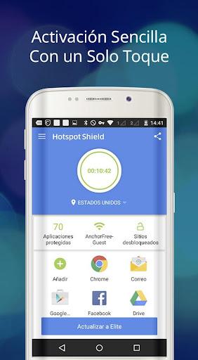 Hotspot Shield Proxy VPN gratuito y VPN segura screenshot 8