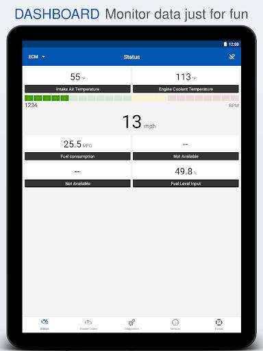 OBD Auto Doctor - ELM327 & OBD2 car scanner tool screenshot 12