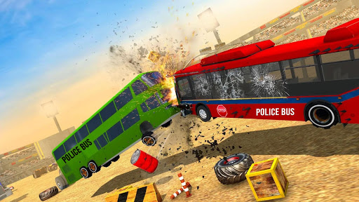 Police Bus Demolition Derby screenshot 5