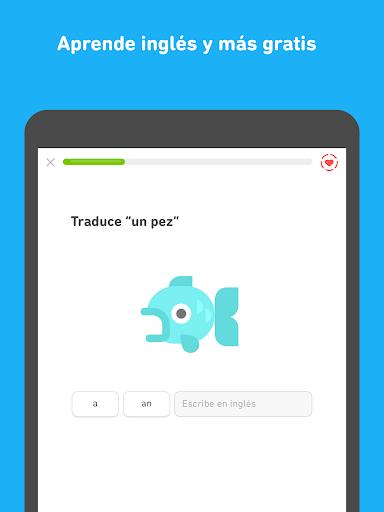 Duolingo - Aprende inglés y otros idiomas gratis screenshot 8