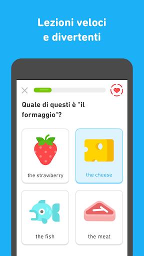 Impara l'inglese con Duolingo screenshot 2