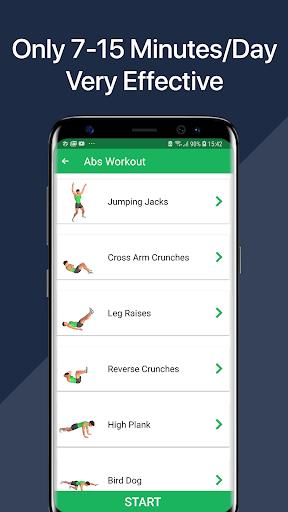 7 Minute Abs Workout - Home Workout for Men 5 تصوير الشاشة