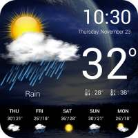 Weather forecast on 9Apps