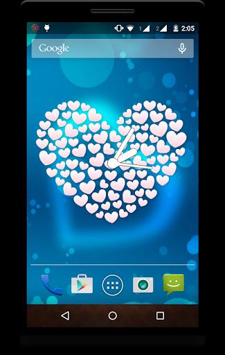 Heart Clock Live Wallpaper screenshot 6
