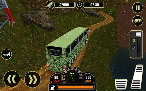 Army Bus Driver 2021:Real Military Coach Simulator screenshot 17