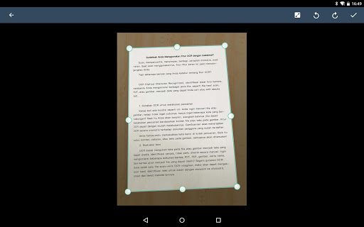 CamScanner: scan ke PDF, Word, Excel, Foto, gratis screenshot 15