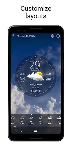 Weather Live° screenshot 1