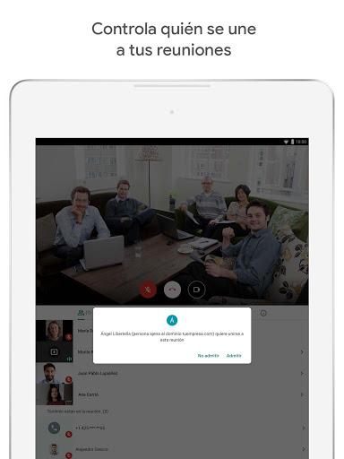 Google Meet screenshot 10