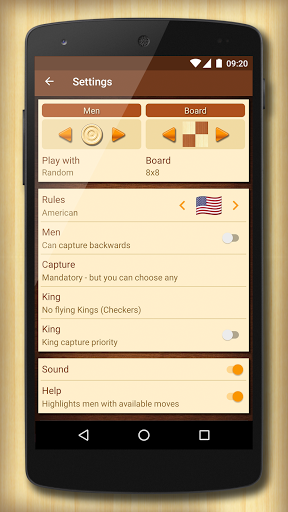 Checkers - strategy board game screenshot 8