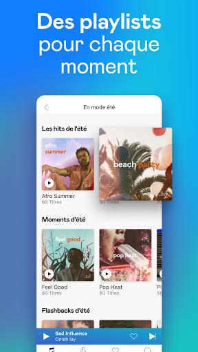 Deezer : musique, podcasts & playlists screenshot 4