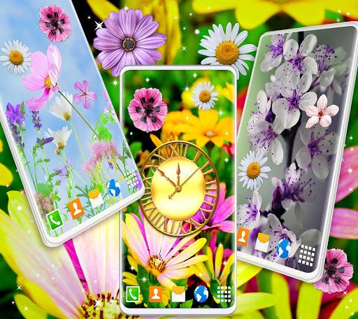 Spring Flowers Live Wallpaper 🌻 Summer Wallpapers screenshot 2