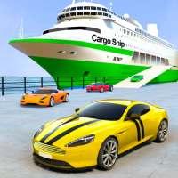 Araba taşıyıcı kamyon oyunları gemisi simülatörü on 9Apps