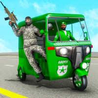 Auto Rickshaw Games 2021 :Army Taxi Game 2021 on APKTom