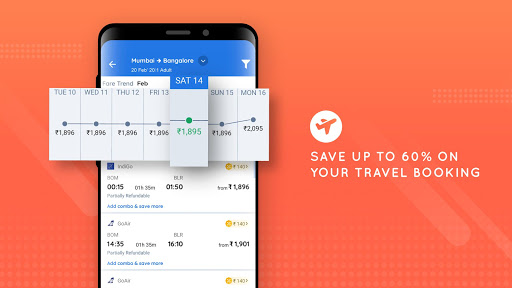 Goibibo Travel App - Hotel, Flights, Train and Bus screenshot 6