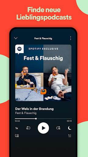 Spotify: Musik und Podcasts screenshot 8
