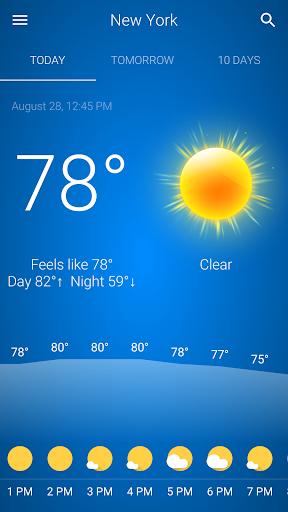 Cuaca screenshot 1