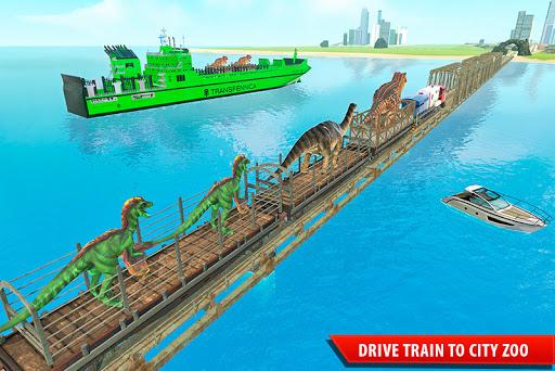 Train Simulator 2021: Rescue Dinosaur Transport screenshot 2