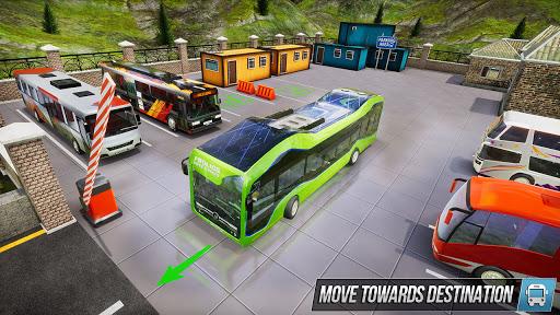 Modern Bus Simulator New Parking Games – Bus Games screenshot 6
