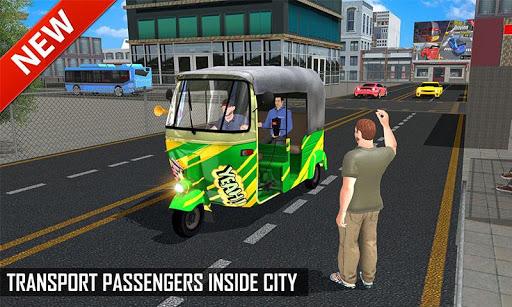Tuk Tuk Auto Rickshaw Offroad Driving Games 2020 screenshot 2