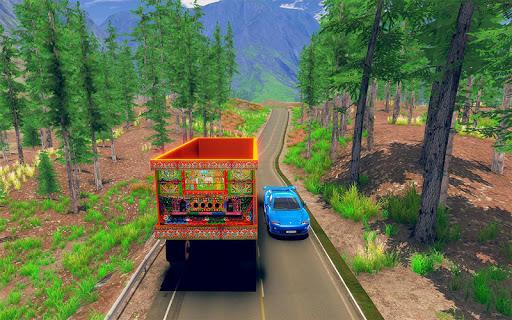 Asian Truck Sim 2020: juegos de conducción screenshot 10