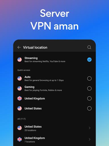 Hotspot Shield Gratis VPN Proxy & Keamanan WiFi screenshot 8
